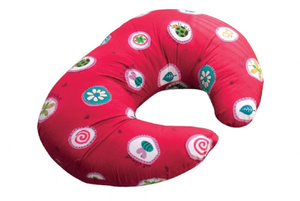 Widgey Nursing Pillow - Red Fossil